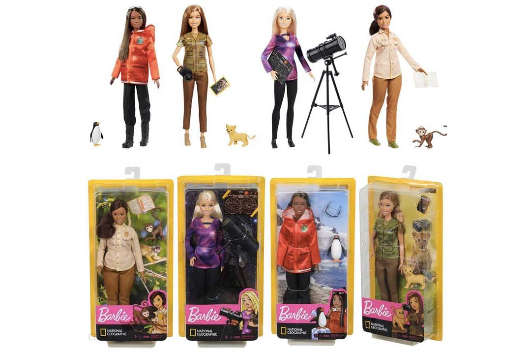 Tutte le Barbie National Geographic