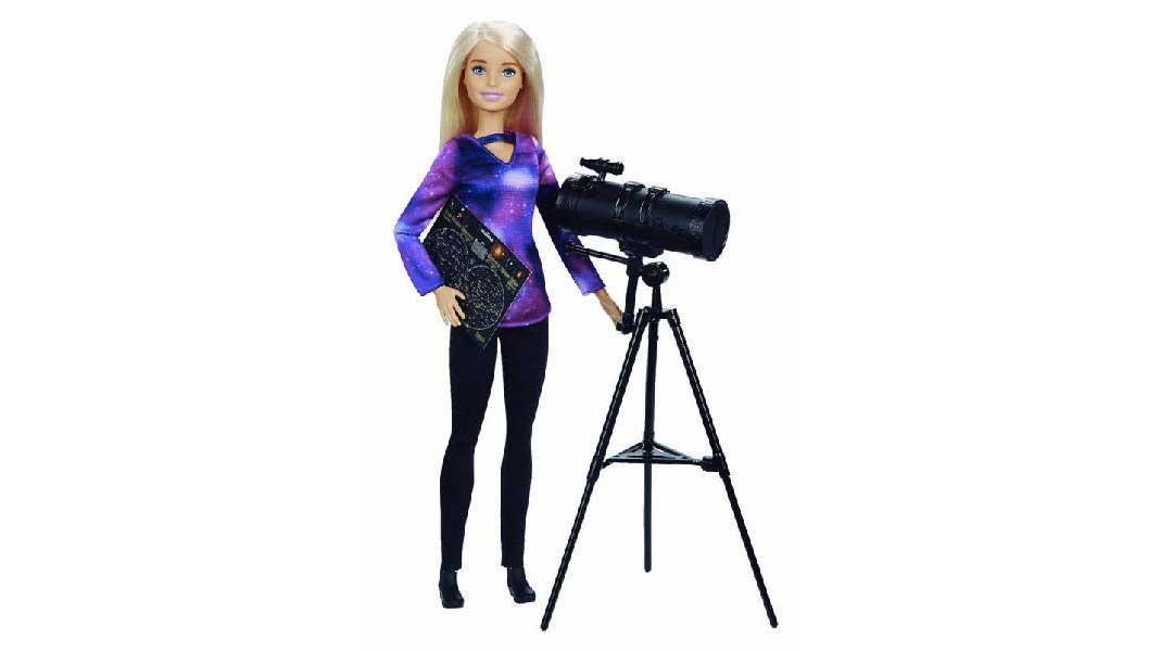 Barbie National Geographic astrofisica