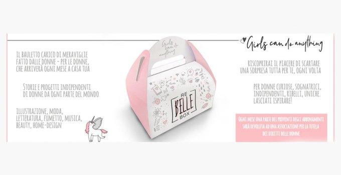 Rebelle Box : scopri la box a sorpresa con libri e prodotti artigianali fatti da donne per le donne