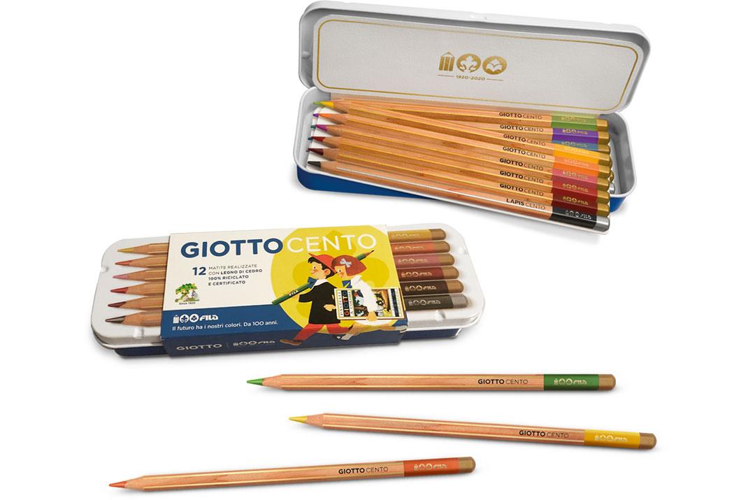 giottocento matite colorate