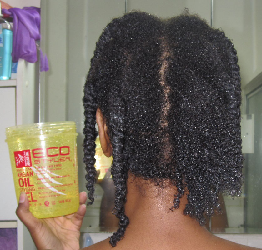 Eco Styler Moroccan Argan Oil Gel On Natural 4a Hair