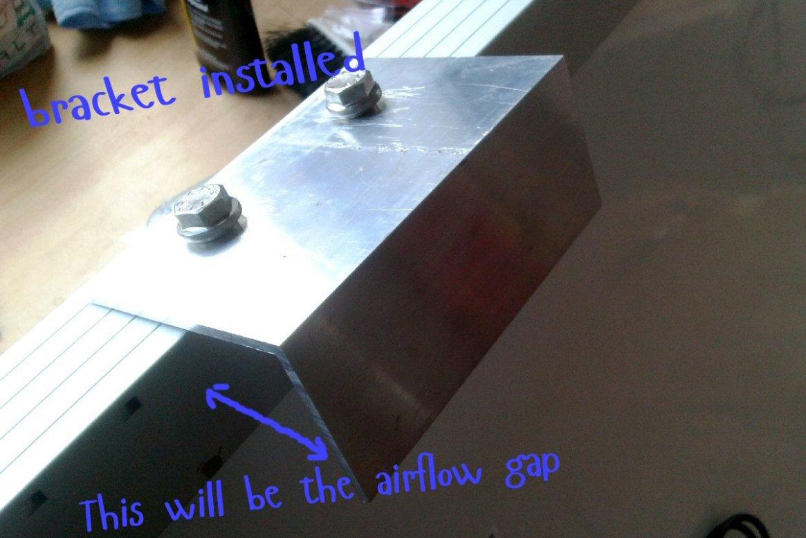 bracket install 2