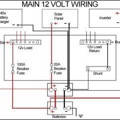 Motorhome Leisure Battery Wiring Diagram Reticular Formation New Batteries And Tidy Up
