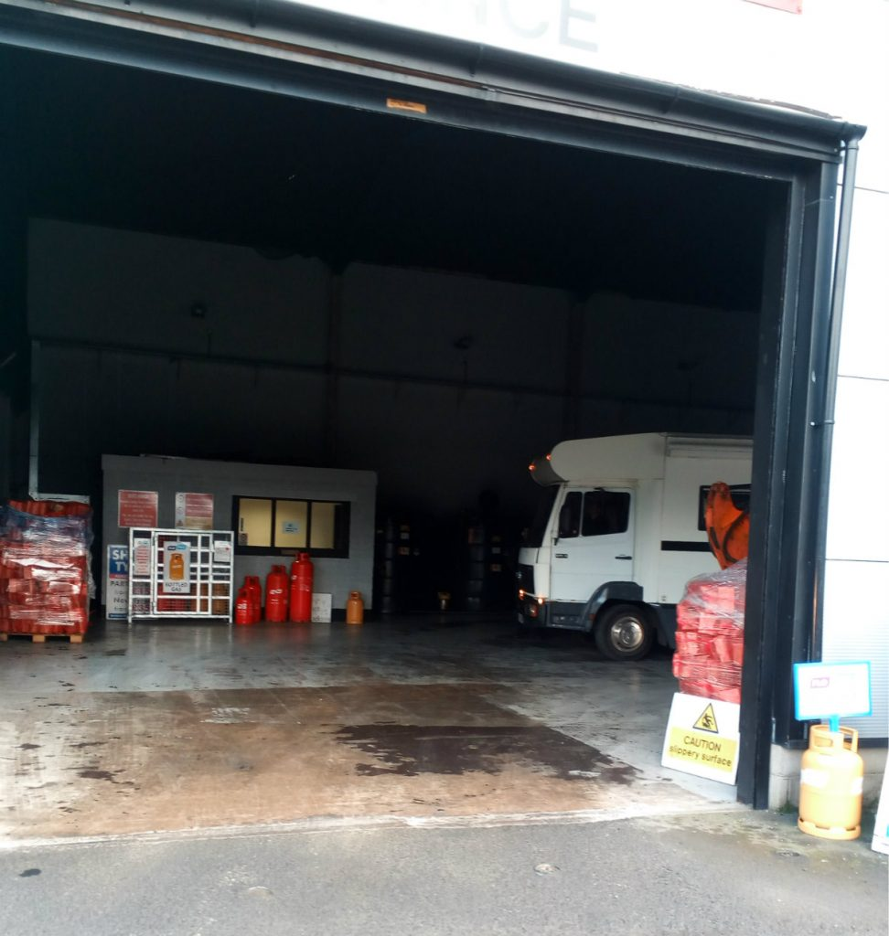 fuel shed