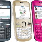 Telefon Nokia C3 Roz