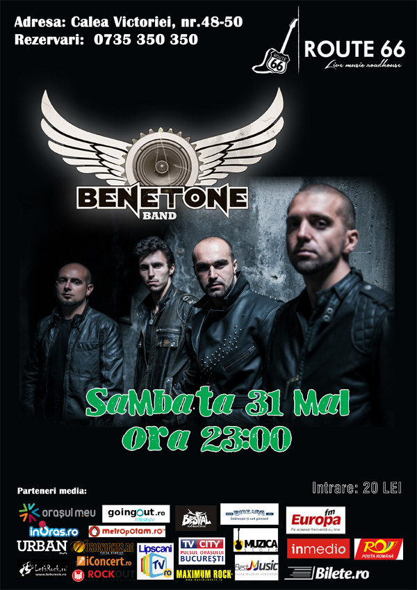 BENETONE Band@Route 66_31.05.2014_WEB