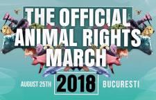 Marsul pentru drepturile animalelor – București 25 august