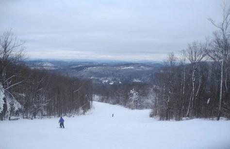 Gore Mountain offers skiing amid the magnificent Adirondack wilderness © 2015 Karen Rubin/news-photos-features.com