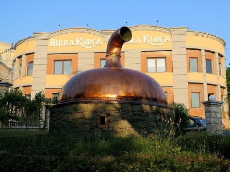 Korca Brewery © 2016 Karen Rubin/goingplacesfarandnear.com
