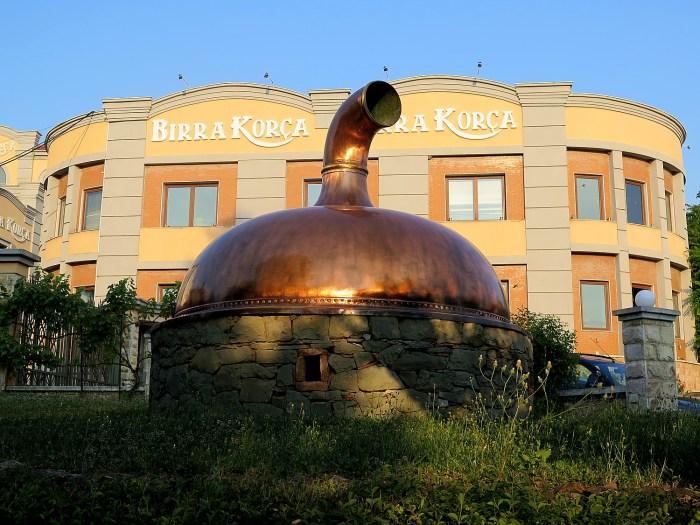 Korca Brewery © 2016 Karen Rubin/goingplacesfarandnear.com
