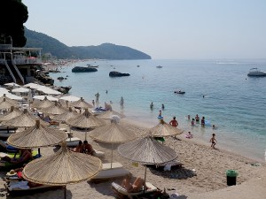 Dhermi is considered Albania's #1 beach town © 2016 Karen Rubin/goingplacesfarandnear.com