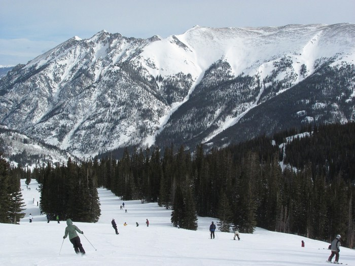 Copper Mountain, Colorado: With the M.A.X. Pass program, you can have a season pass at popular Vermont resorts like Okemo and Pico and get five days to ski at Copper Mountain, Colorado © 2016 Karen Rubin/goingplacesfarandnear.com