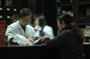 The Hu Qingyutang Chinese Pharmacy founded in 1874 by Hu Xueyan and still operating in Hangzhou, China © 2016 Karen Rubin/goingplacesfarandnear.com