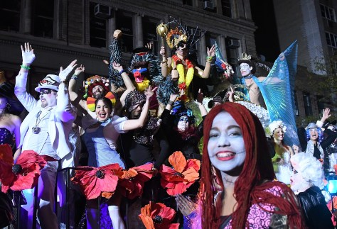 """New York City's 43rd Annual Village Halloween Parade, the largest in the world, was themed """"Reverie"""" © 2016 Karen Rubin/goingplacesfarandnear.com"""