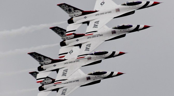 USAF Thunderbirds Headline Memorial Day Weekend Bethpage Air Show at Jones Beach, Long Island