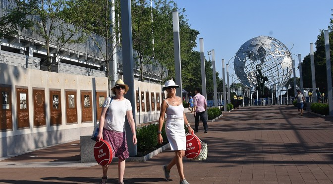 Festive Atmosphere as US Open Tennis Championship Opens Gates to All for Qualifying Matches