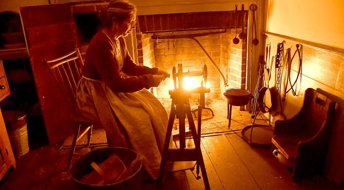 Enchanting Candlelight Evening at Old Bethpage Village Restoration is Like Stepping into a Christmas Card