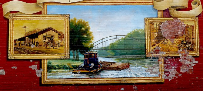 Cycle the Erie: Heritage of Erie Canal Preserved in Murals Along the Erie Canalway