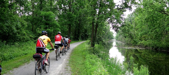 Cycle the Erie, Day 4: Seneca Falls to Syracuse, Crossing Halfway Mark of 400-Mile Biketour