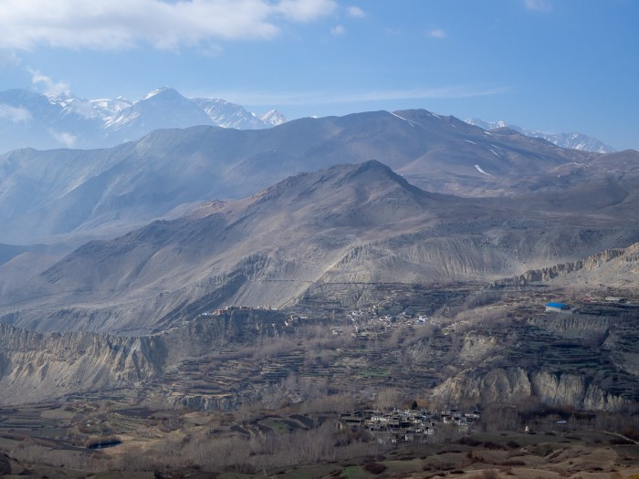 Upper Mustang viewpoint