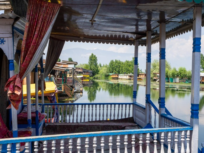 Houseboat on dal lake