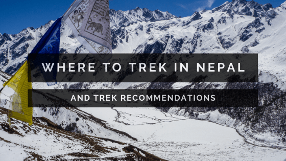 where to trek in Nepal blog