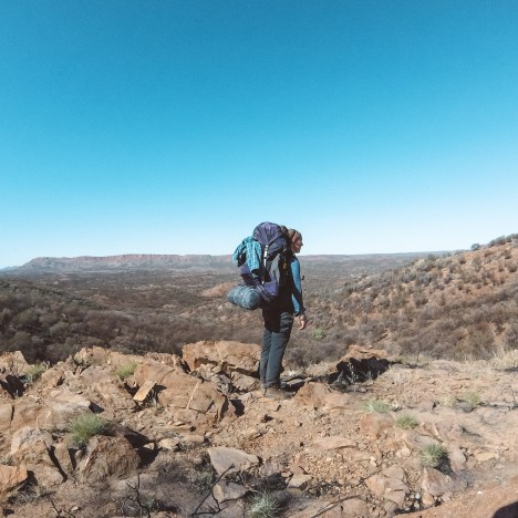 Hiking the Larapinta trail end-to-end solo: part 1