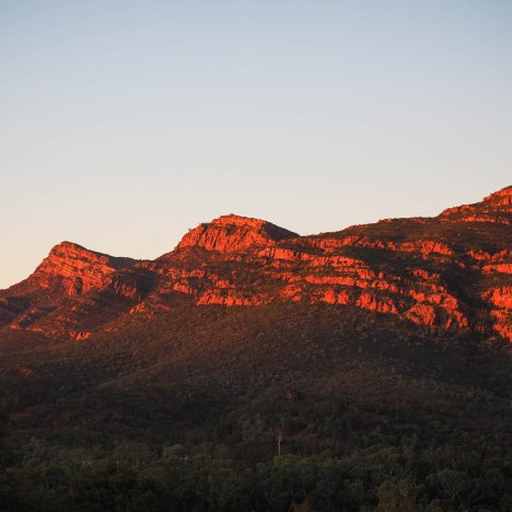 Staying at Wilpena Pound Resort in the Flinders Ranges