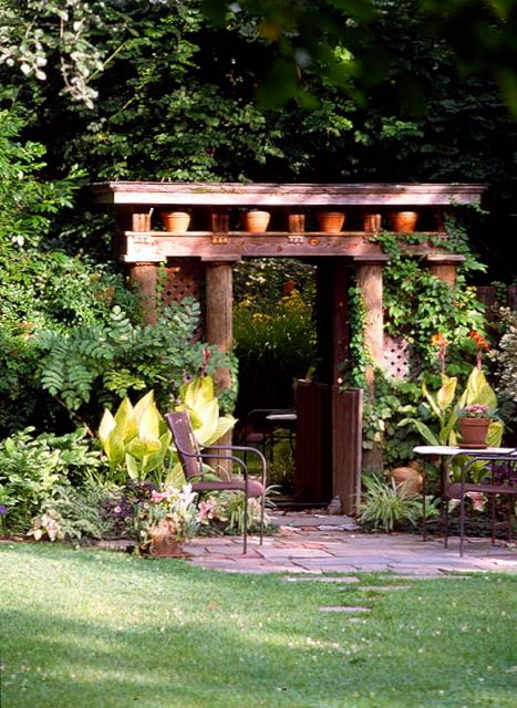 Garden folly