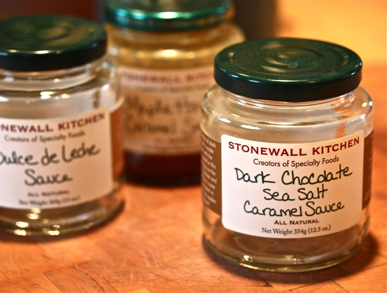 stonewall kitchen dark chocolate sea salt caramel sauce pull out shelves for cabinets | breaking new ground in zone 6