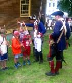 Recruitments for the junior militia