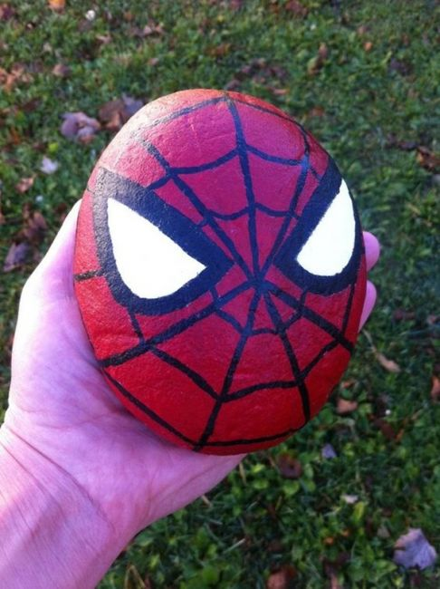 Easy Paint Rock For Try at Home (Stone Art & Rock Painting ...