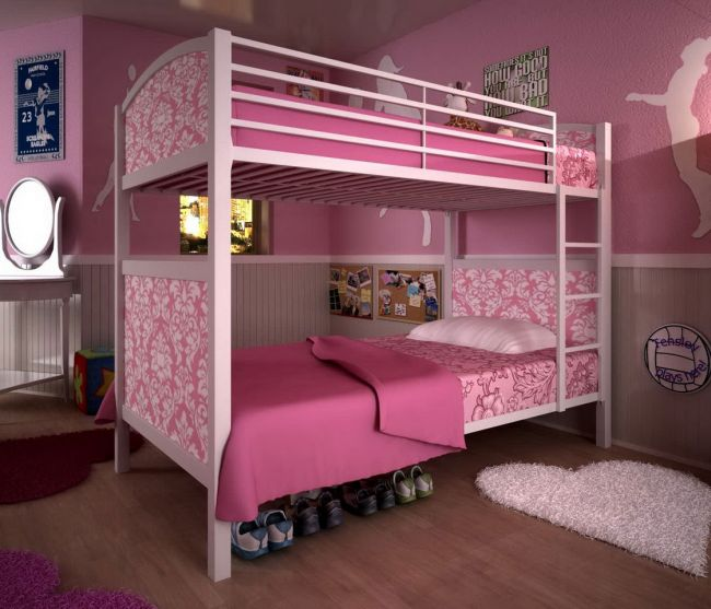 Pink Bedroom Ideas That Can Be Pretty And Peaceful Or: DIY Bedroom Ideas For Girls Or Boys