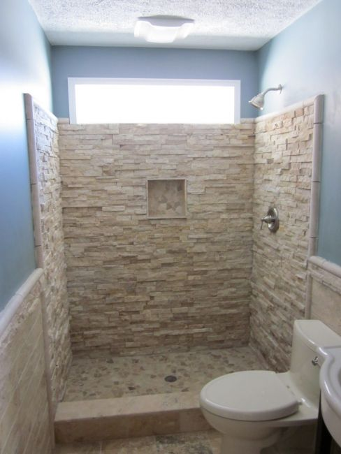 25 walk in showers for small bathrooms to your ideas and for Bathroom door ideas for small spaces