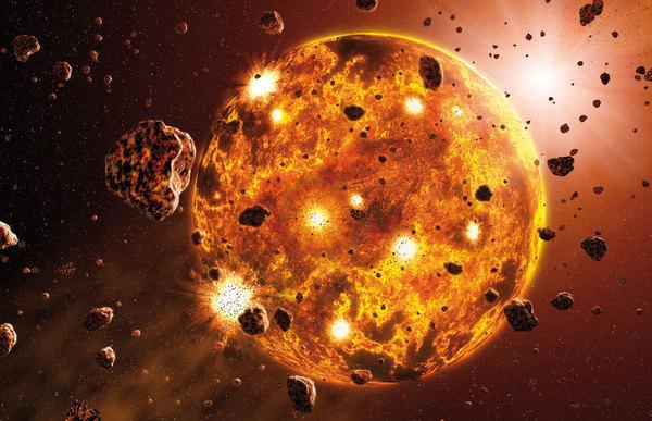 Pembentukan Teori Nebula