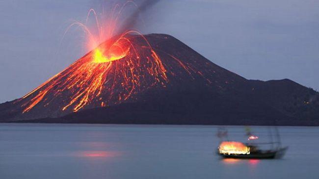 pengertian gunung meletus menurut para ahli