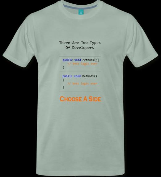 Software Development Coder Coding Style Shirt