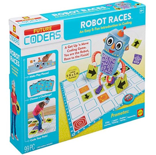 Coding Game For Kids Robot Races