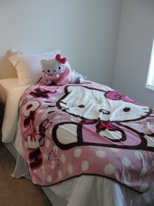 A Hello Kitty! Room for Grace
