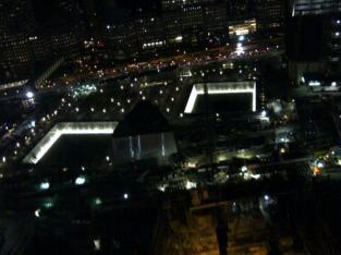 Reflecting Pools at Night