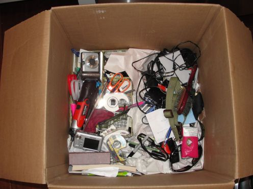 What can only be called a box of crap