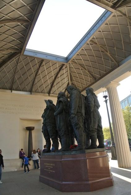 Royal Air Force Bomber Command Memorial Statue