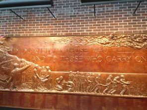 FDNY Memorial Wall at Ten House - Dedicated to those who fell, and those who carry on