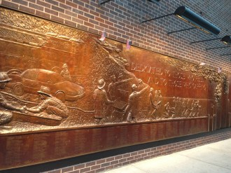 FDNY Memorial Wall at Ten House