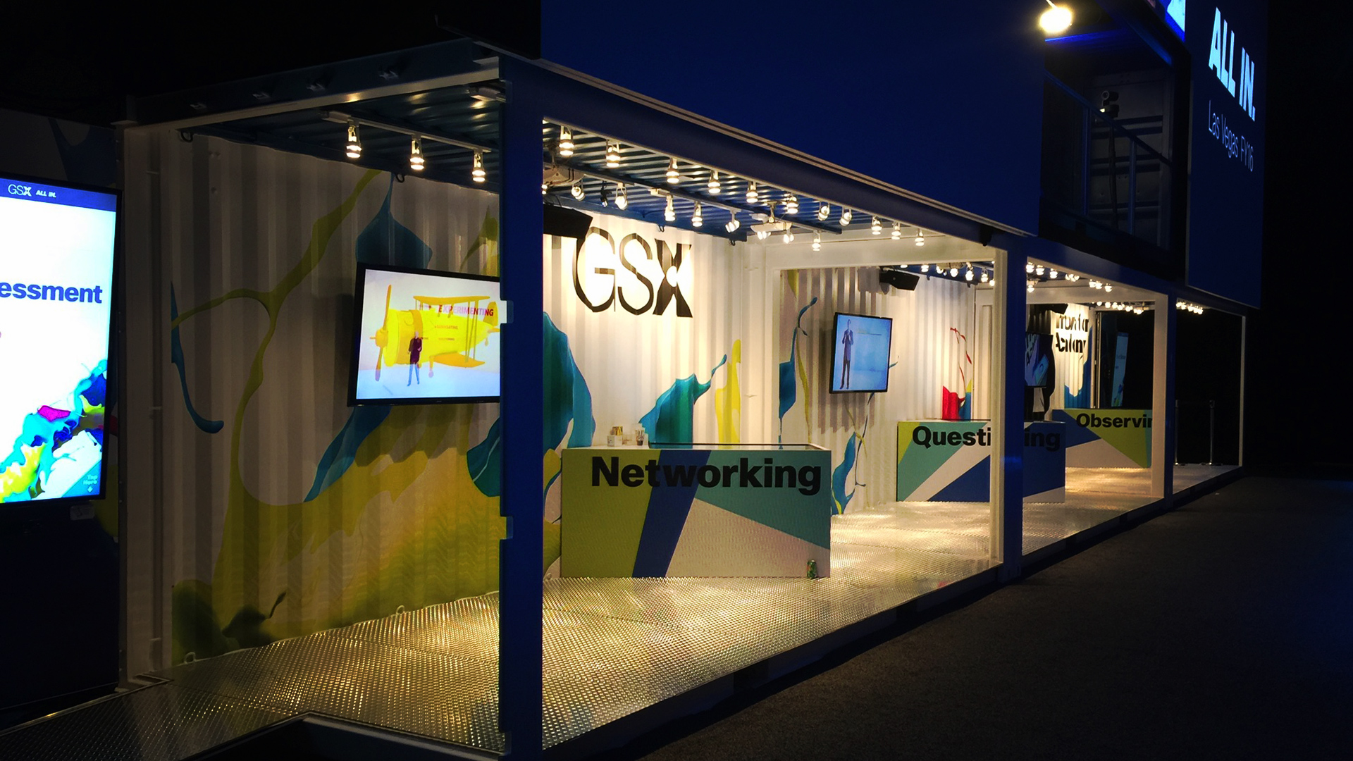 Cisco Systems Shipping Container Booth  IPME