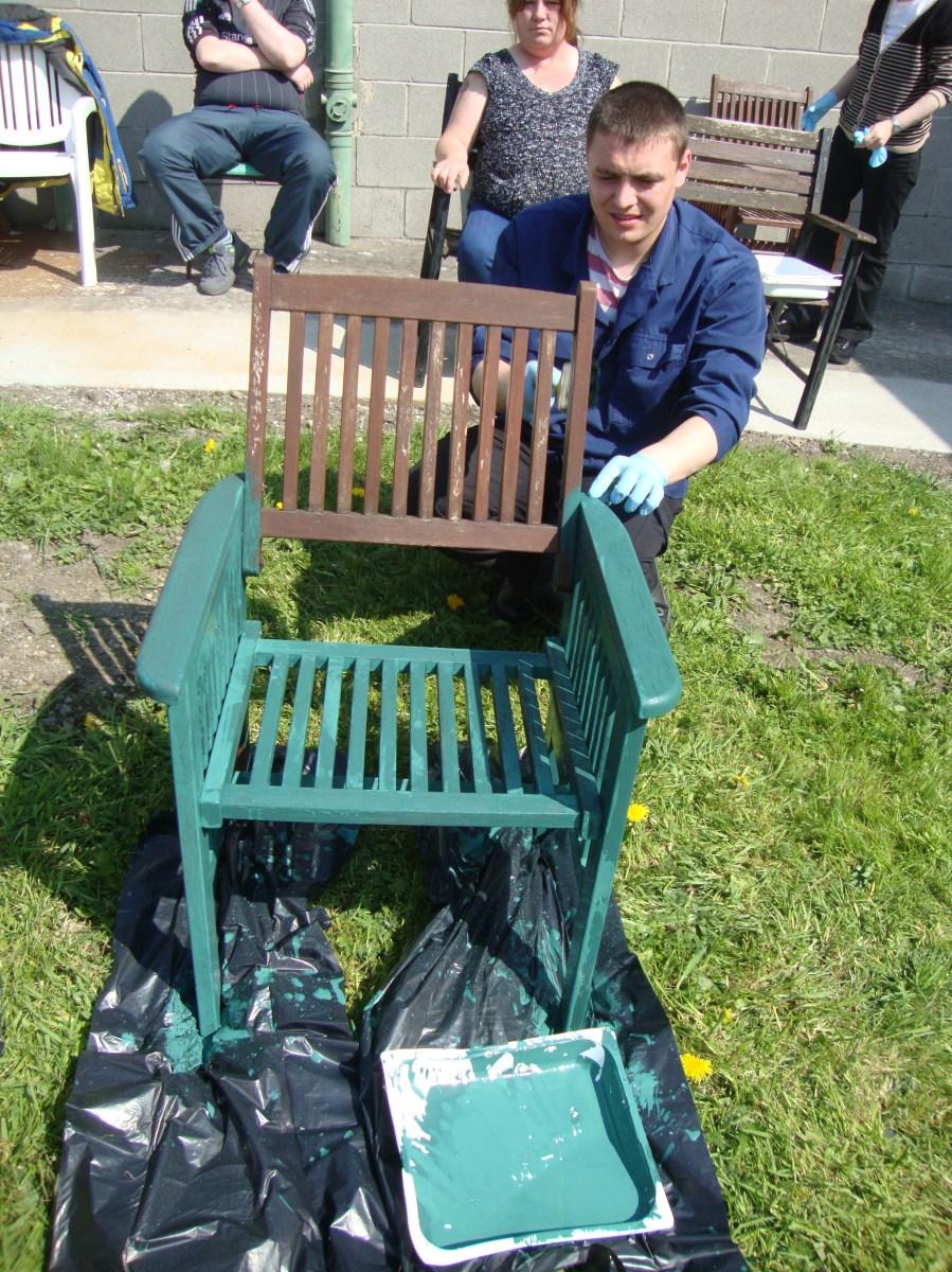 Garden Furniture Painting Project Goirtin Hub