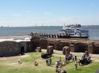 View from the top of Fort Sumter