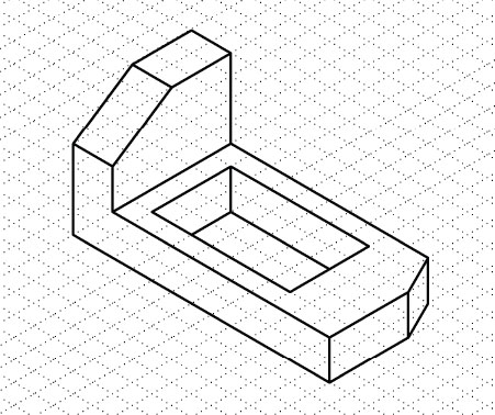 Simple Isometric Drawing Exercises With Answers