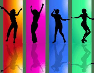 人影ダンス