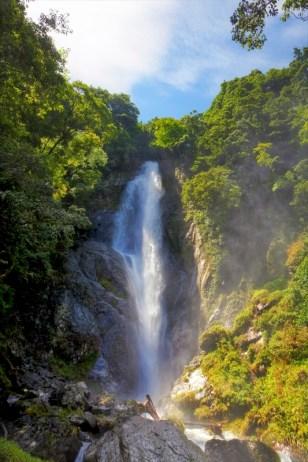 Sendan-Todoro waterfall, one of the 100 Best waterfalls of Japan's